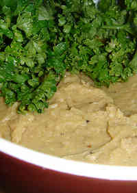 Hummus (Chickpea Paste) Cooked in a Pressure Cooker