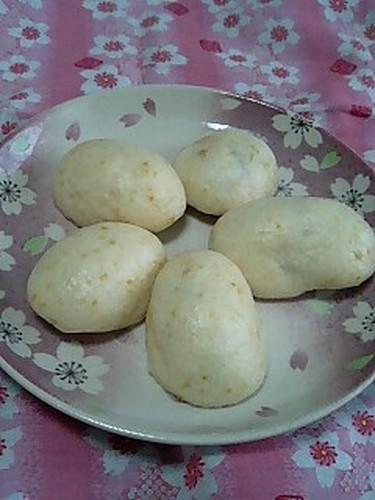 Sake Lees Manju (Steamed Buns)