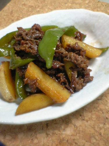 Easy Salty Sweet Simmered Beef