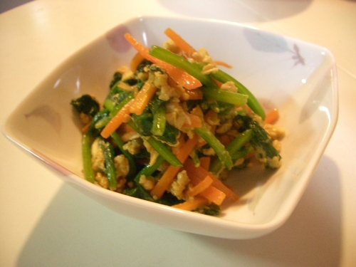 5 Minute Spinach Stir-Fry in Sesame Oil