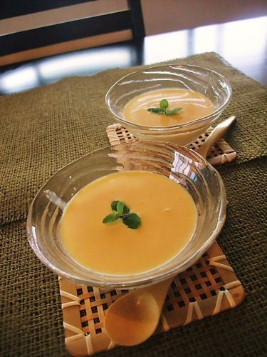 Fresh Chilled Sweet Corn Soup