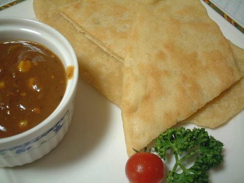 Easy & Fluffy Tofu Naan