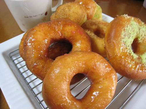Melt-in-Your-Mouth Fluffy Doughnuts