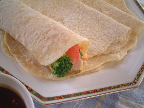 Tofu and Soft Tortillas