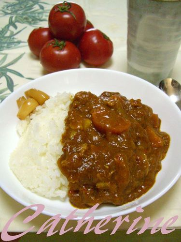 Pork and Sugar Tomato Fruit Curry