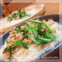 Thai-style Somen Noodles With Fish Sauce