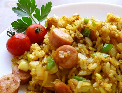 ★ Curry Flavoured Fried Rice ★