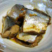 Pacific Saury (or Sardines) Cooked in a Pressure Cooker