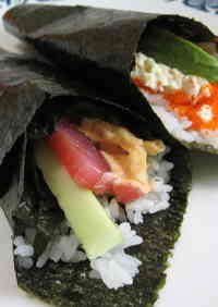 Hand-Rolled California Rolls