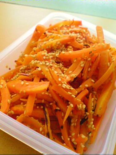 Macrobiotic Oil-free, Sweet Steam-fried Carrots