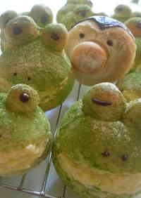 Froggy Cream Bread