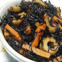 Simple and Easy Simmered Hijiki Seaweed