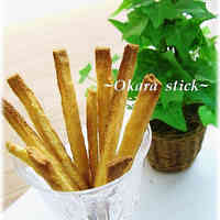 Bread Flour Okara Sticks