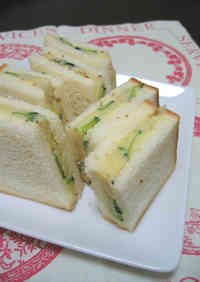 Anchovy and Potato Salad Sandwich