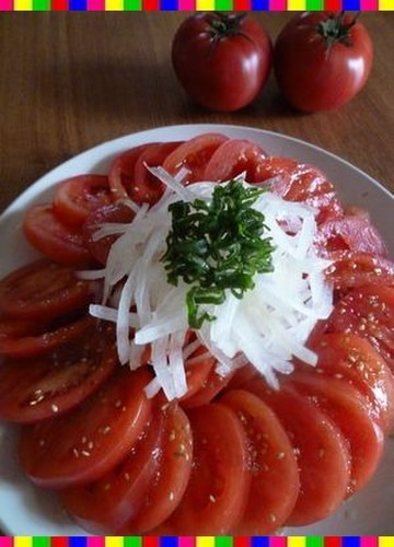 A Korean Friend's Recipe For Tomato Salad