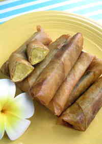 Banana Lumpia - Simple Hawaiian Dining