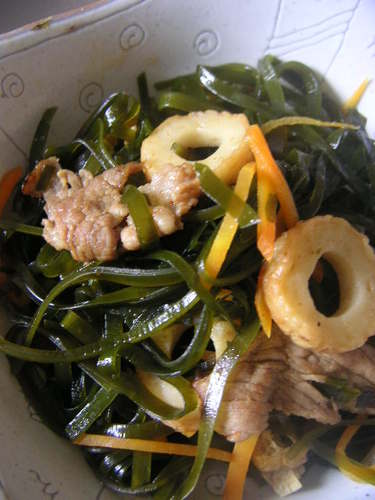 Sea Noodles - Simmered Shredded Kombu