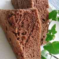 Healthy Microwaved Banana & Cocoa Steamed Bread