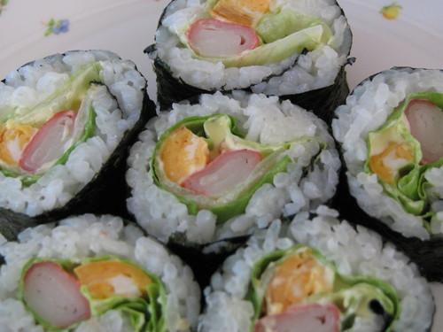 Lettuce Sushi Rolls