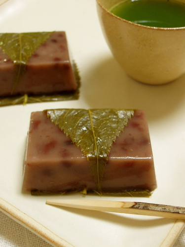 Mizu-yokan (Soft Sweet Bean Paste) Flavored with Rum