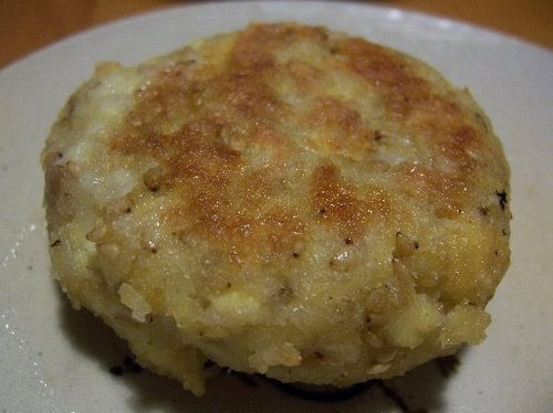 Healthy Atsuage Fried Tofu Burgers Lots of Sesame
