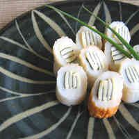 Striped Chikuwa Fishcake Sticks (Bento or Appetizer)