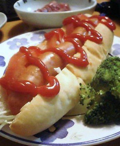 Plain Hot Dog Rolls