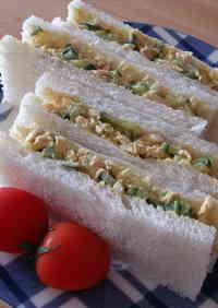 Curried Chicken Tenderloin Mayonnaise Sandwich