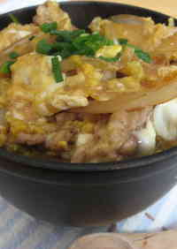 Chicken & Egg Rice Bowl in a Skillet