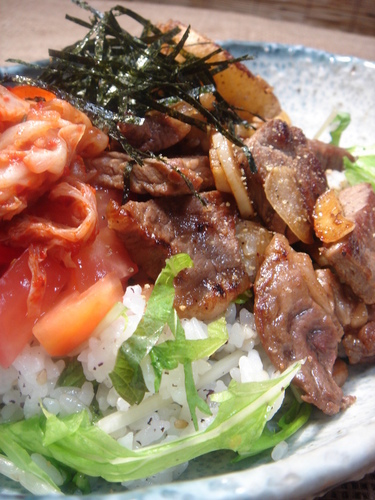 Café Lunch at Home: Steak Rice Bowl