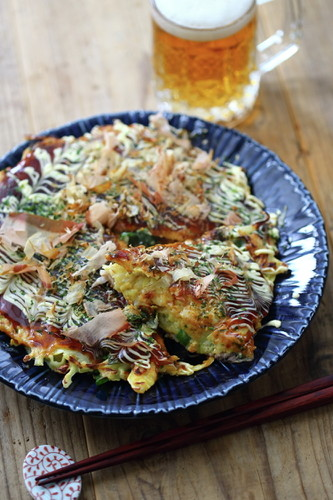 Fluffy and Creamy Okonomiyaki