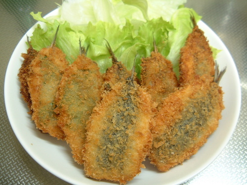 Breaded and Deep Fried Sardines