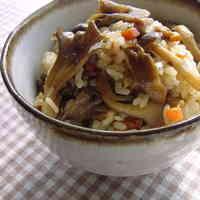 Sweet & Savory Mushroom Rice
