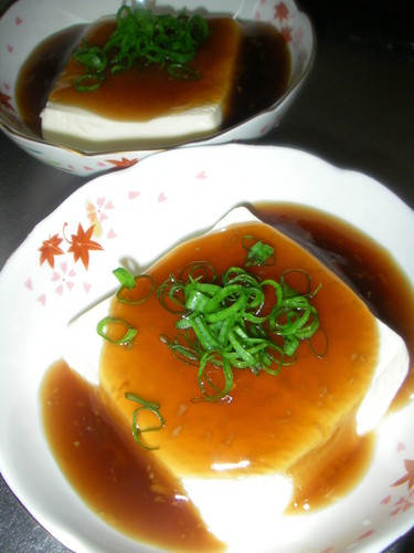 Warmed Tofu with Thick Ginger Sauce