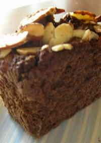 Easy 100% Okara Cake, Cocoa Version