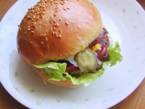 Vegetarian Natto Burger
