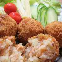 Autumn Salmon and Butter Croquettes