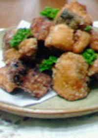 Salmon Zangi (Deep Fried Salmon)