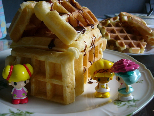 Waffle House! Happy Breakfast!