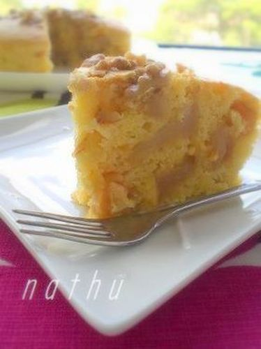 Non-Oil Yogurt Apple Cake