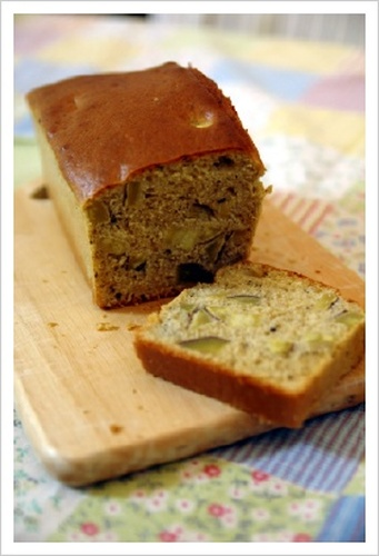 Sweet Potato Pound Cake with 'Kuromitsu' Brown Sugar Syrup