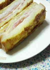 Good All the Way to the Crusts! Simple Sandwich