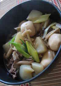 A Quintessential Autumn Dish! ! Imoni (Simmered Potatoes), a Regional Speciality from Yamagata