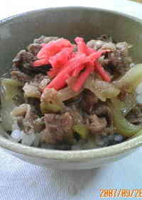 Beef Rice Bowl