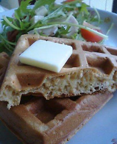 Whole Wheat Breakfast Waffles