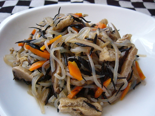 Stir-fried Shirataki