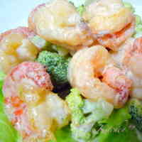 Tasty Non-Fried ☆ Shrimp in Mayonnaise Sauce