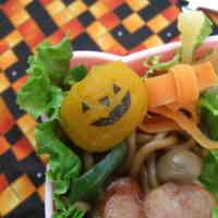 Halloween Ghost Pumpkin Character For Bentos