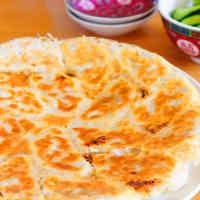 Juicy Pan-fried Gyoza Dumplings