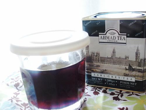 Homemade Black Tea Liqueur